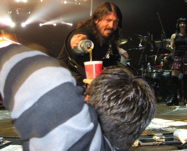 Follow Dave Grohl's Example and Pour Your Fans A Beer